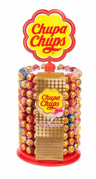 40 Chupa Chups Lollies With Display Stand Awesome Lollipop Stands Display