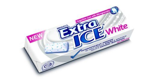 30 Packets Of Extra Ice White Chewing Gum Sugar Free