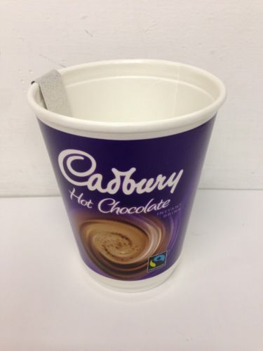 40 Cups Of Cadbury Hot Chocolate 2go 2 Go Foil Sealed In Cup 12oz