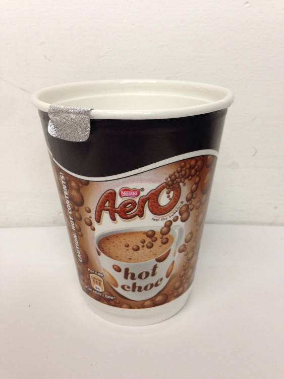 40 Cups Of Nescafe Aero Hot Chocolate 2go 2 Go Foil Sealed In Cup 12oz