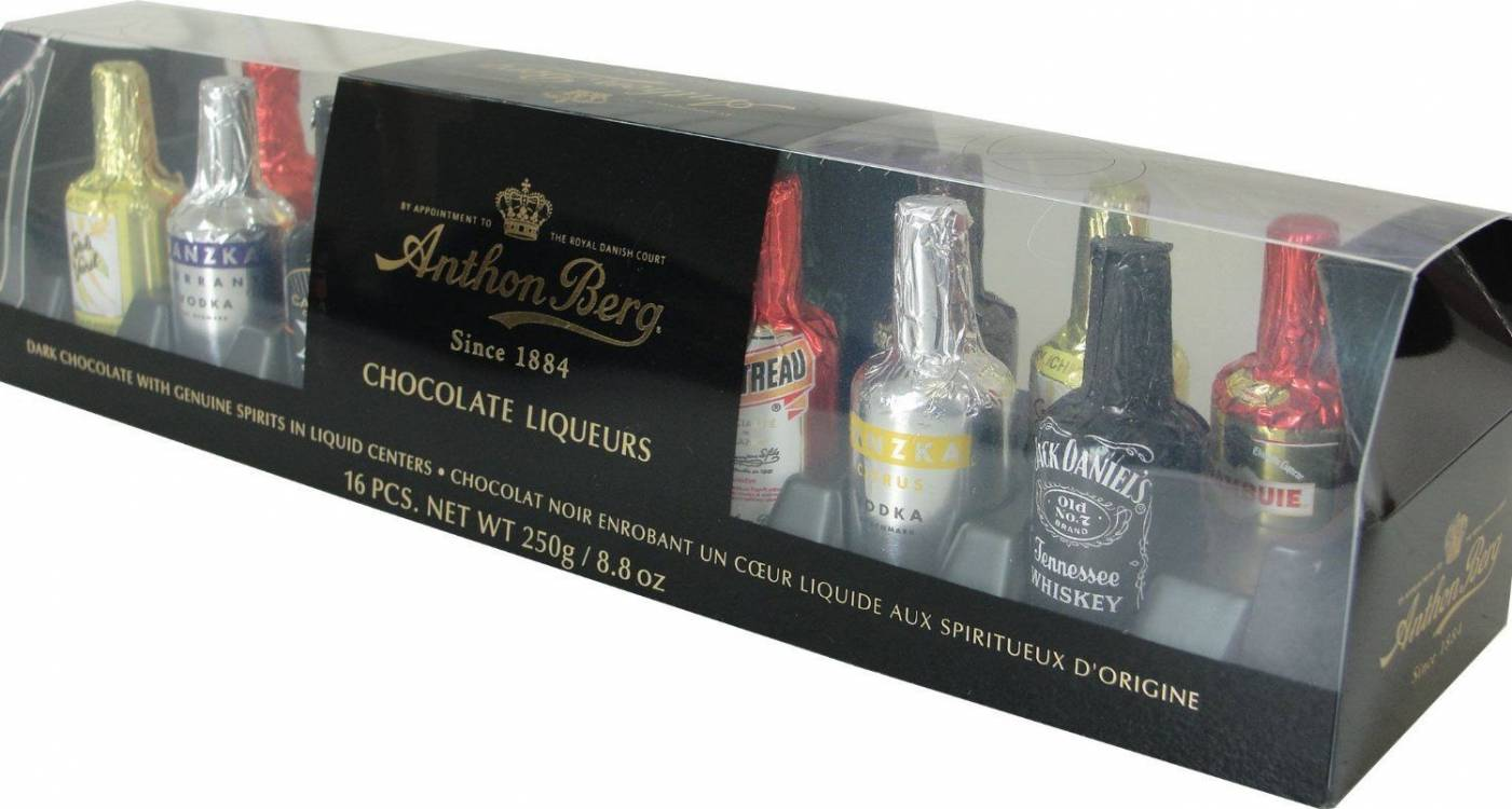 Anthon Berg 16 Pce Chocolate Liqueurs (Pack of 1) -
