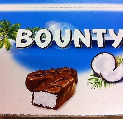 Bounty Milk Chocolate Full Box Of 24 Bars