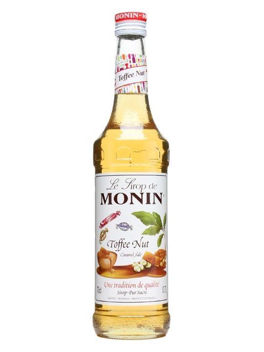 Monin Premium Coffee Syrup - 70cl - Toffee Nut Flavour