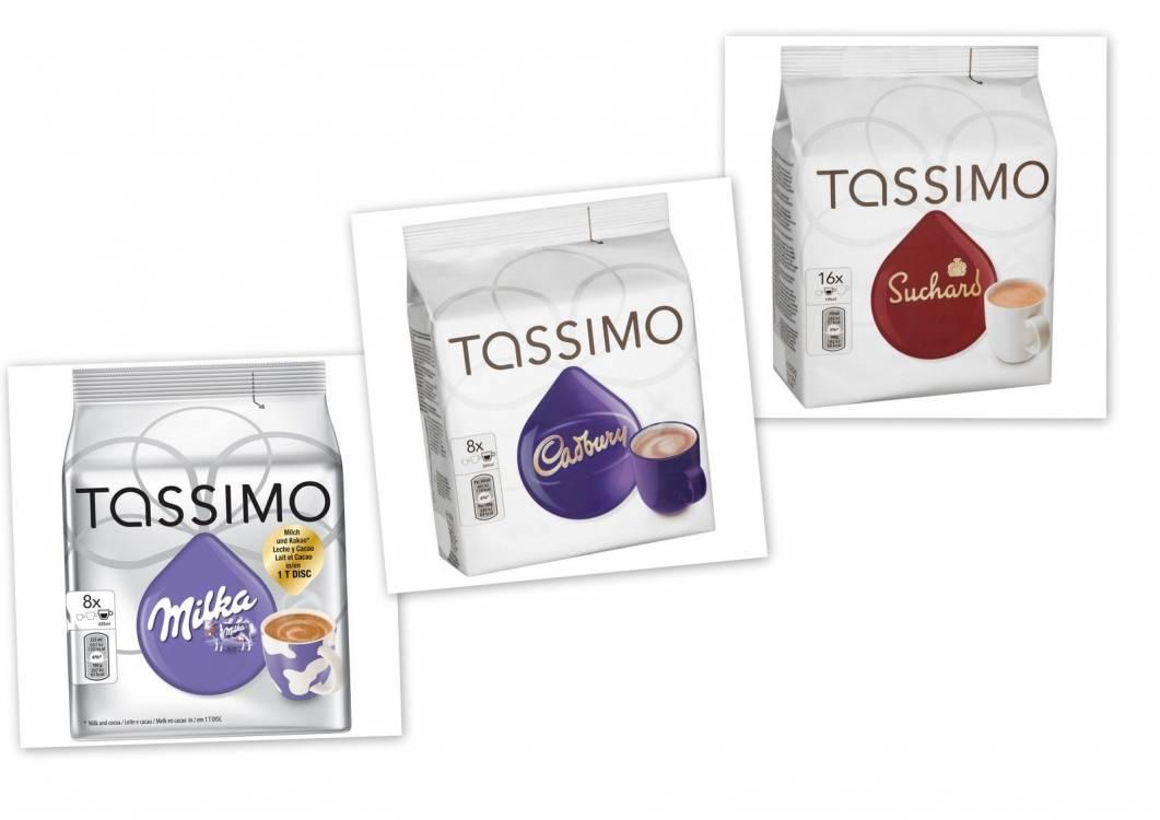 Tassimo T Discs Pods Hot Chocolate Pack Milka Cadbury